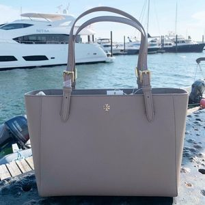 Tory Burch Emerson Small Buckle Tote Bag